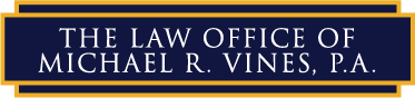 The Law Office of Michael R. Vines, P.A. Logo